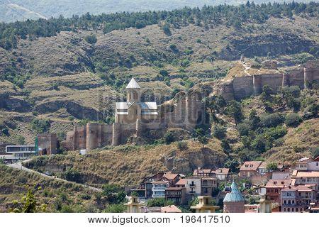 Narikala Fortress In Tbilisi