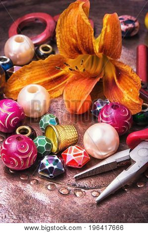 Handmade Retro Bead