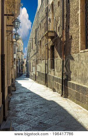 Old Sicilian Houses