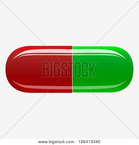 Capsule Pill Illustration