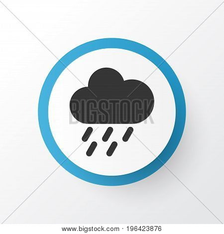 Premium Quality Isolated Douche Element In Trendy Style. Shower Icon Symbol.