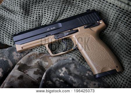 Pistal Automatic Short Hand Gun.
