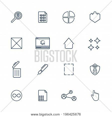 Multimedia Icons For App, Programs And Sites. Universal Icons