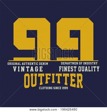 graphic design vintage finest quality for shirt and print