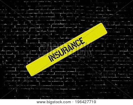 Insurance - Breach - Image With Words Associated With The Topic Health Insurance, Word, Image, Illus