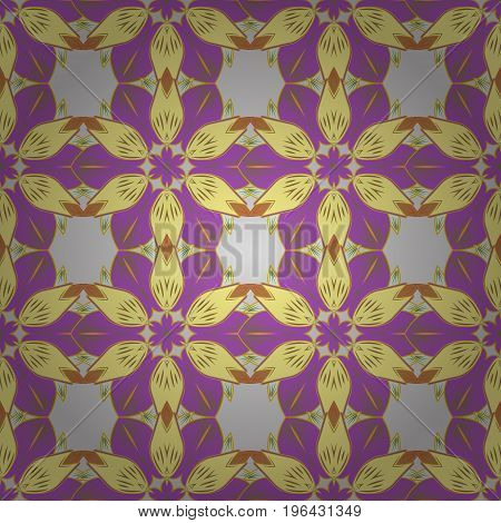 Abstract luxury ornate bright texture. Vector pattern. Brilliant ornament background for designs. Colored mandala. Decoration cover invitation for holiday.