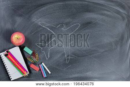Back to School concept with high goals for education