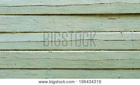 texture of painted boards with exfoliated paint.