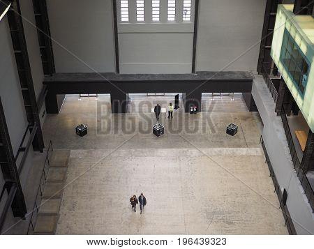 Tate Modern Turbine Hall In London