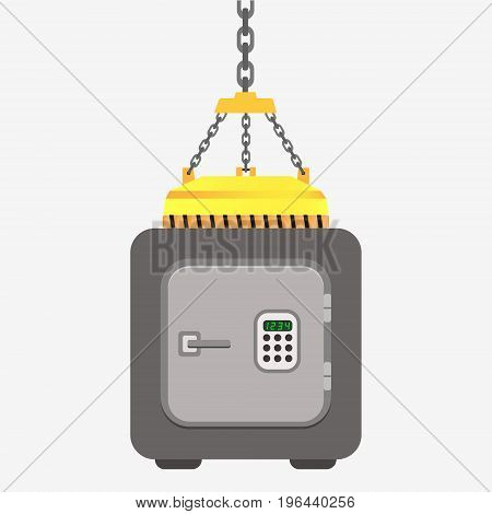 Metal Bank Safe