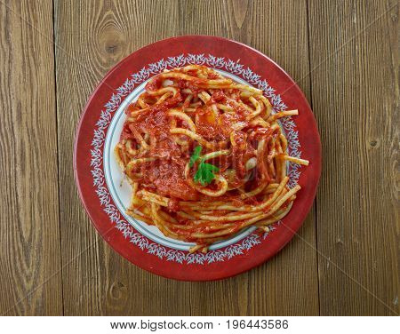 Italian Sauce Of Roasted Tomatoes