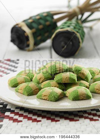 the checker cookies and pelita