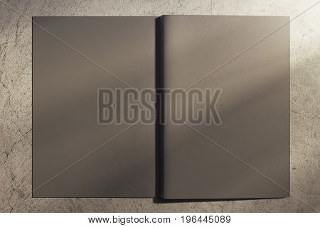 Gray Hardcover Notebook