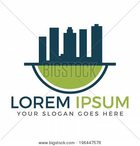 Real Estate Logo,Hotel Logo,Building Logo,Property logo,Vector Logo Template
