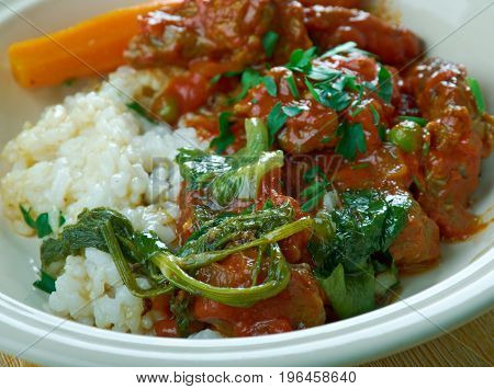 Cuban Style Oxtail Stew