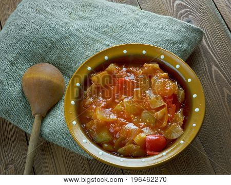 Indian Ridge Gourd Gravy