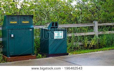 Keep the environment green-put litter in it's place