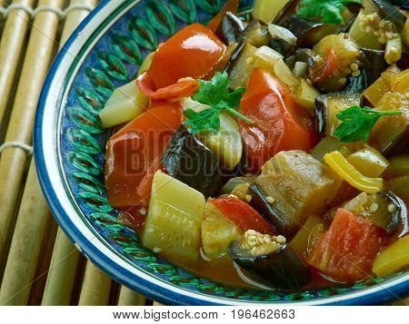 Indian Fried Vegetables