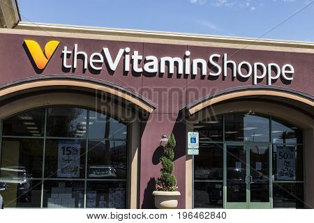 Las Vegas - Circa July 2017: The Vitamin Shoppe or TheVitaminShoppe retail strip mall location. TheVitaminShoppe helps people achieve their health and wellness goals I