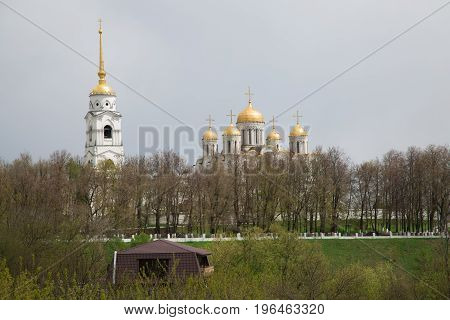 Landmark vladimir city Russian Federation cathedral landscape