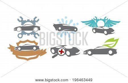 Car Service Bundle Set Collections28