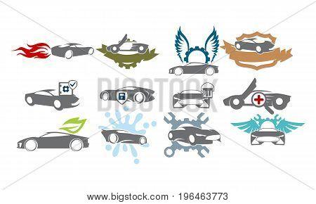 Car Service Bundle Set Collections30