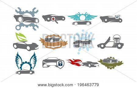 Car Service Bundle Set Collections31