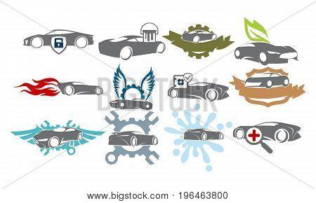 Car Service Bundle Set Collections35
