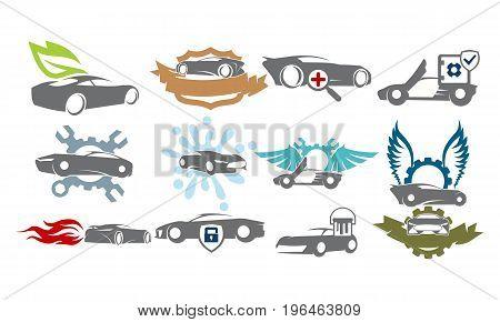 Car Service Bundle Set Collections36