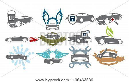 Car Service Bundle Set Collections39