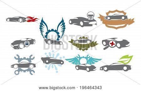 Car Service Bundle Set Collections43