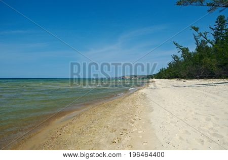 Peschanka -bay With A Sandy Beach