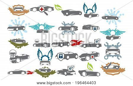 Car Service Bundle Set Collections48