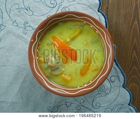 Romanian Tripe Soup