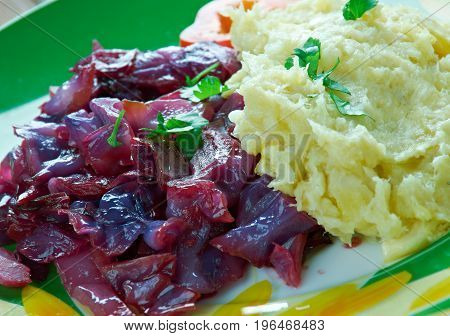 Traditional German Rotkohl- Sweet Sour Red Cabbage