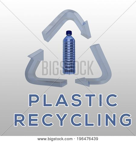 Plastic Recycling Concept