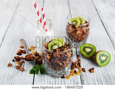 Granola Cereal With Nuts