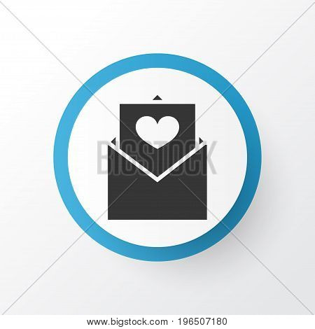 Premium Quality Isolated Letter Element In Trendy Style. Envelope Icon Symbol.