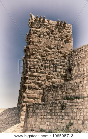 The Old Caste  And His Tower In The Sky