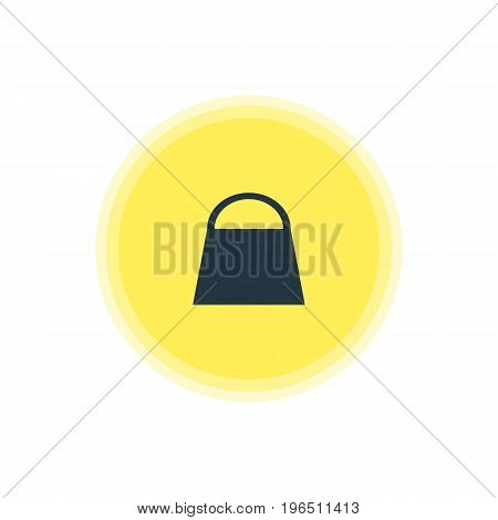 Beautiful Travel Element Also Can Be Used As Handbag Element. Vector Illustration Of Shopping Bag Icon.
