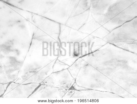 White Marble Rectangular Frame Textured