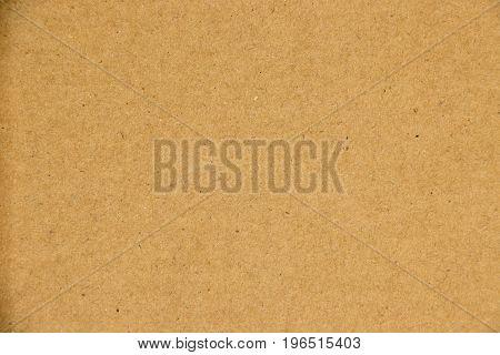 Blank brown kraft paper board texture background