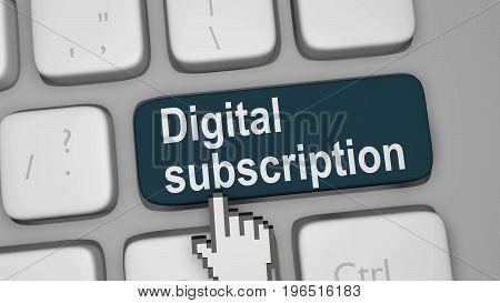 Digital Subscription For Online Content