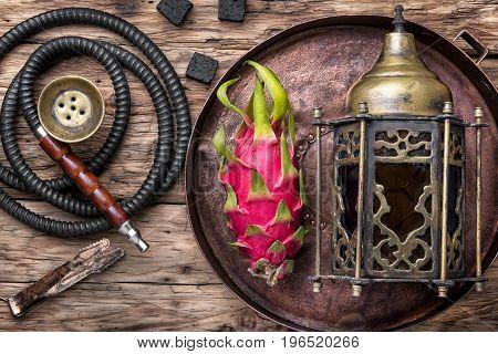 Exotic Shisha Hookah With Pitahaya