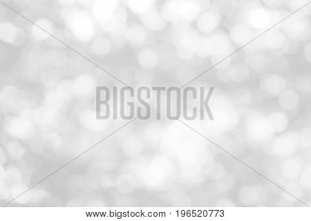 Natural white and gray bokeh backgrounds that are blurred for your design.
