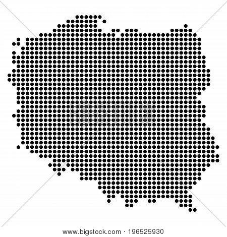 Pixel Map Of Poland