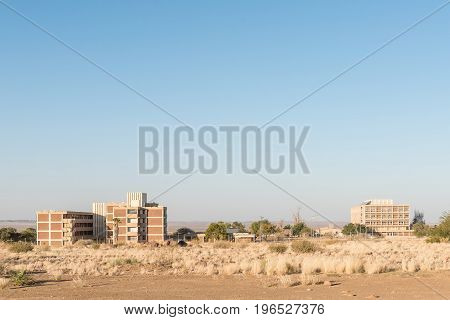 The State Hospital in Keetmanshoop the capital town of the Karas Region of Namibia