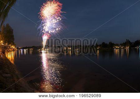 Fireworks On The River, Sesto Calende