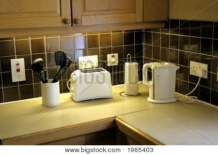 Domestic Kitchen Worktop
