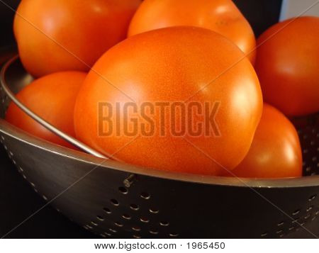 Tomatoes In Strainer